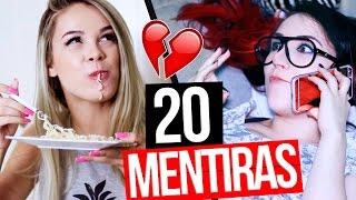 20 MENTIRAS QUE TODA PESSOA CONTA ft. Ingredy Barbi