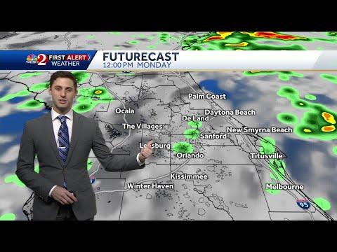Soaking Sunday Night Forecast
