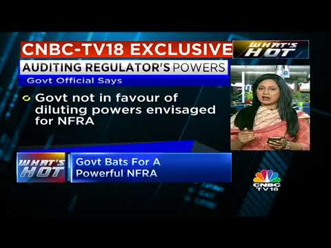 Government Bats For An Empowered NFRA