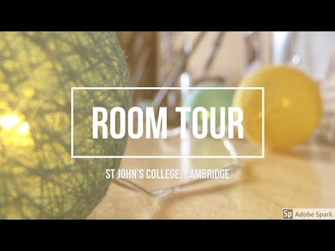 St John's College Cambridge Room Tour