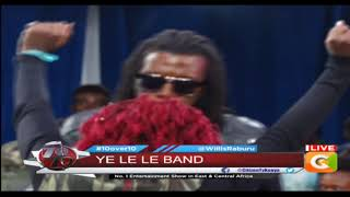 Le Band performing brand new track on stage #10Over10