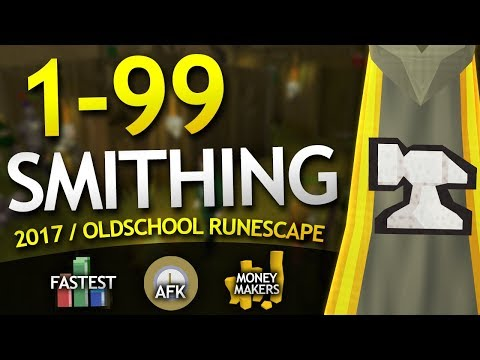 [OSRS] Ultimate 1-99 Smithing Guide (Fastest/Highly Profitable Methods)