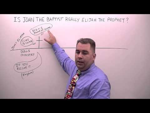 Is John the Baptist Really Elijah the Prophet?
