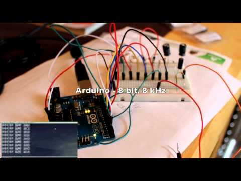 Arduino Playing Audio With R2R Ladder DAC - Tangible Void - Cold Observer Of Human Carnival