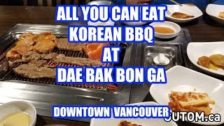 THE BEST ALL YOU CAN EAT KOREAN BBQ DAE BAK BON GA - Vancouver Food Reviews - Gutom.ca