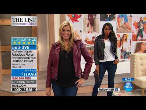HSN | The List with Colleen Lopez 10.12.2017 - 09 PM