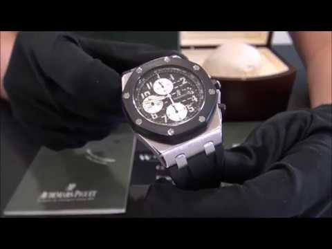 Audemars Piguet Royal Oak Offshore Caucho | WatchesGMT (Español)