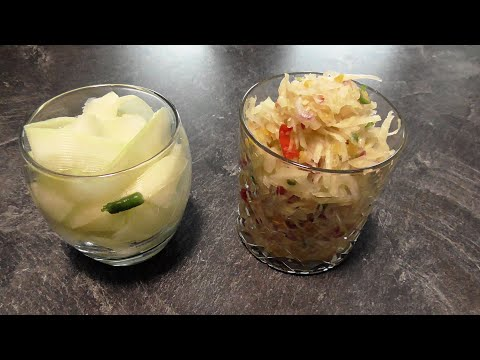 Papaja sambal & Papaja ingelegd