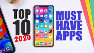 Top 10 MUST HAVE iPhone Apps - 2020