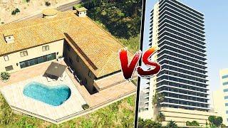 Gta 5 ITA - Villa VS Appartamento di lusso - Qual è la casa migliore?