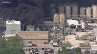 One dead, two injured in explosion, fire at chemical plant near Houston