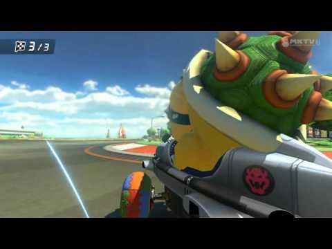 Wii U - Mario Kart 8 - (GCN) Yoshi Circuit
