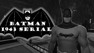 Batman: Arkham Origins - 1943 Movie Serial Batsuit