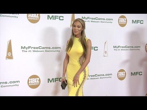 Mia Isabella XBIZ Awards 2017 Red Carpet Fashion