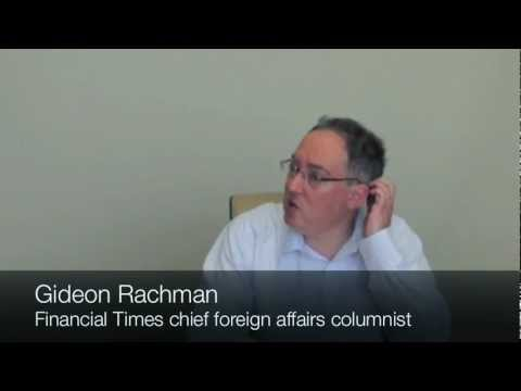 Interview with Gideon Rachman, Financial Times columnist