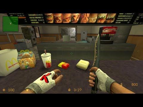 Counter Strike Source Gameplay McDonald's cpl Strike