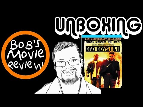 Bad Boys 20th Anniversary Collection BluRay Unboxing Giveaway Ended