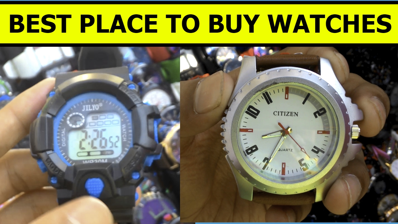 BEST PLACE TO BUY FIRST COPY WATCHES IN MUMBAI | ADIDAS, NIKE, CASIO  G-Shock in Cheap price