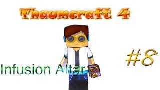 Гайд, обучение по моду Thaumcraft 4 - Infusion Altar #8