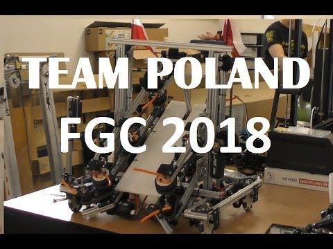 FIRST Global 2018 Team Poland - Robot Reveal