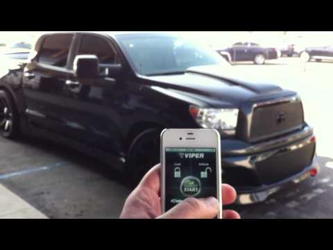 Tundra Smart Start Viper Alarm Bye Planet Motor Sports