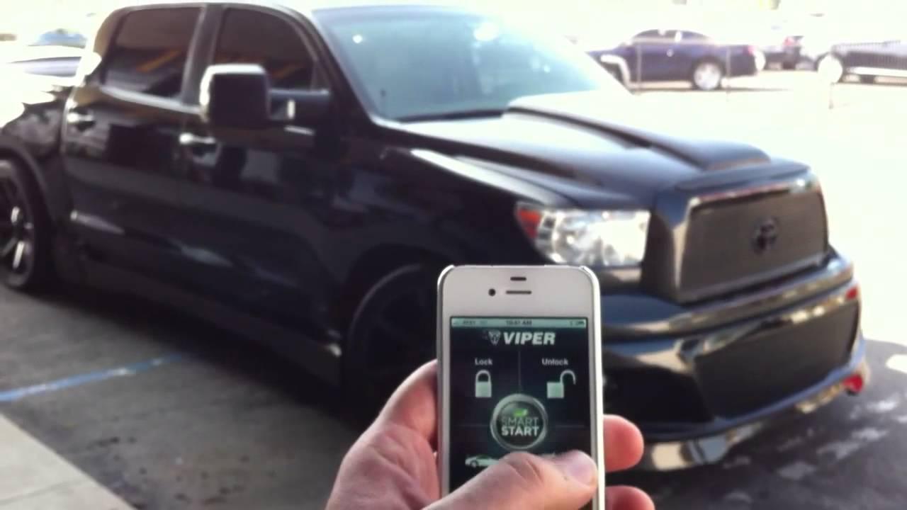 Viper Alarm System >> Tundra Smart Start Viper Alarm Bye Planet Motor Sports ...