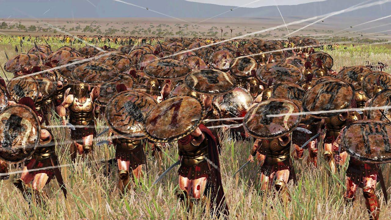 300 spartans vs 3000 romans - Ultimate Epic Battle ...