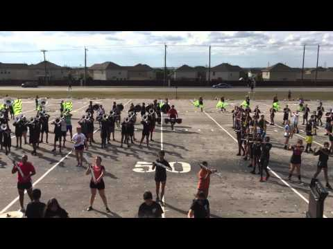 Karen Wagner High School Marching Band 10.31.15 Last Rehearsal Run
