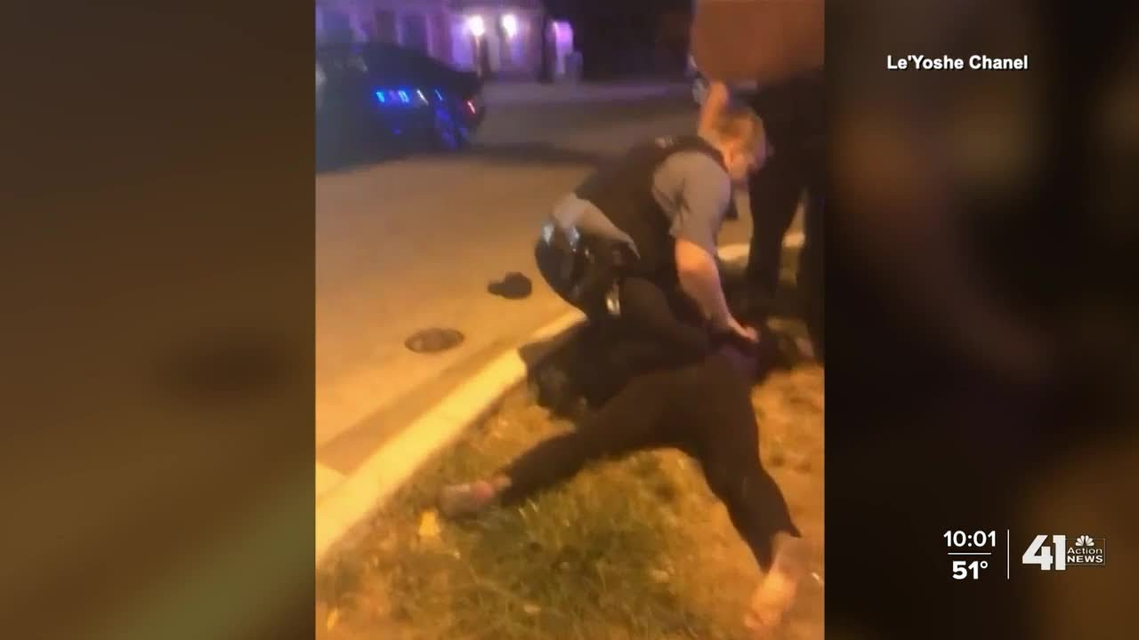 KCPD addresses video showing an officer arresting a pregnant woman