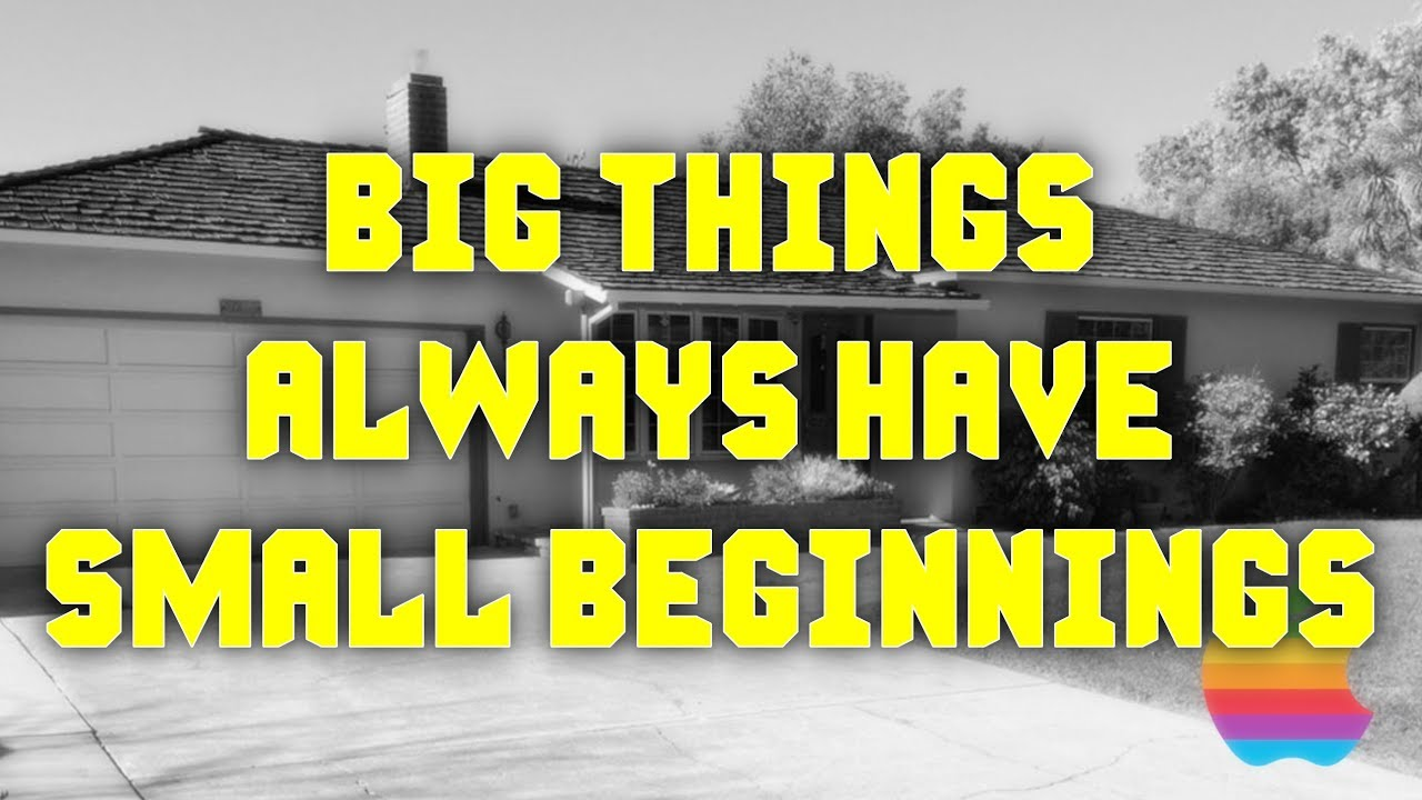 Big Things Always Have Small Beginnings Life Quotes Whatsapp
