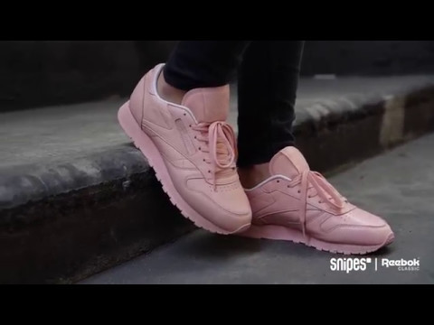 1289b9f584715 SNIPES   Reebok Classic Leather Pastels - YouTube