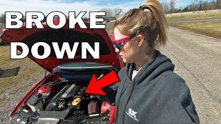 My Drift Car BROKE On The Track