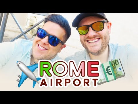 5 Things To Do Once You Arrive At Leonardo Da Vinci Airport / Rome Fiumicino (FCO) - Italy Travel