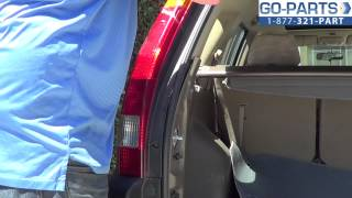 Replace 2002-2006 Honda Cr-V Tail Light / Bulb, How to Change Install 2003 2004 2005 HO2818126