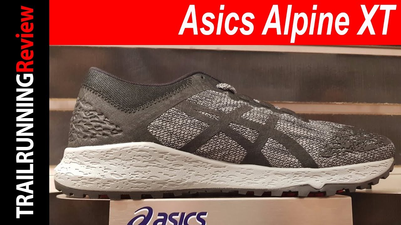 Asics Alpine XT Preview