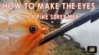 How to make eyes on a pike streamer