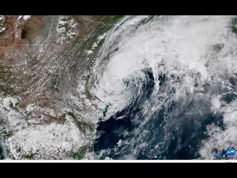 Harvey Meanders Just Off Texas Coast