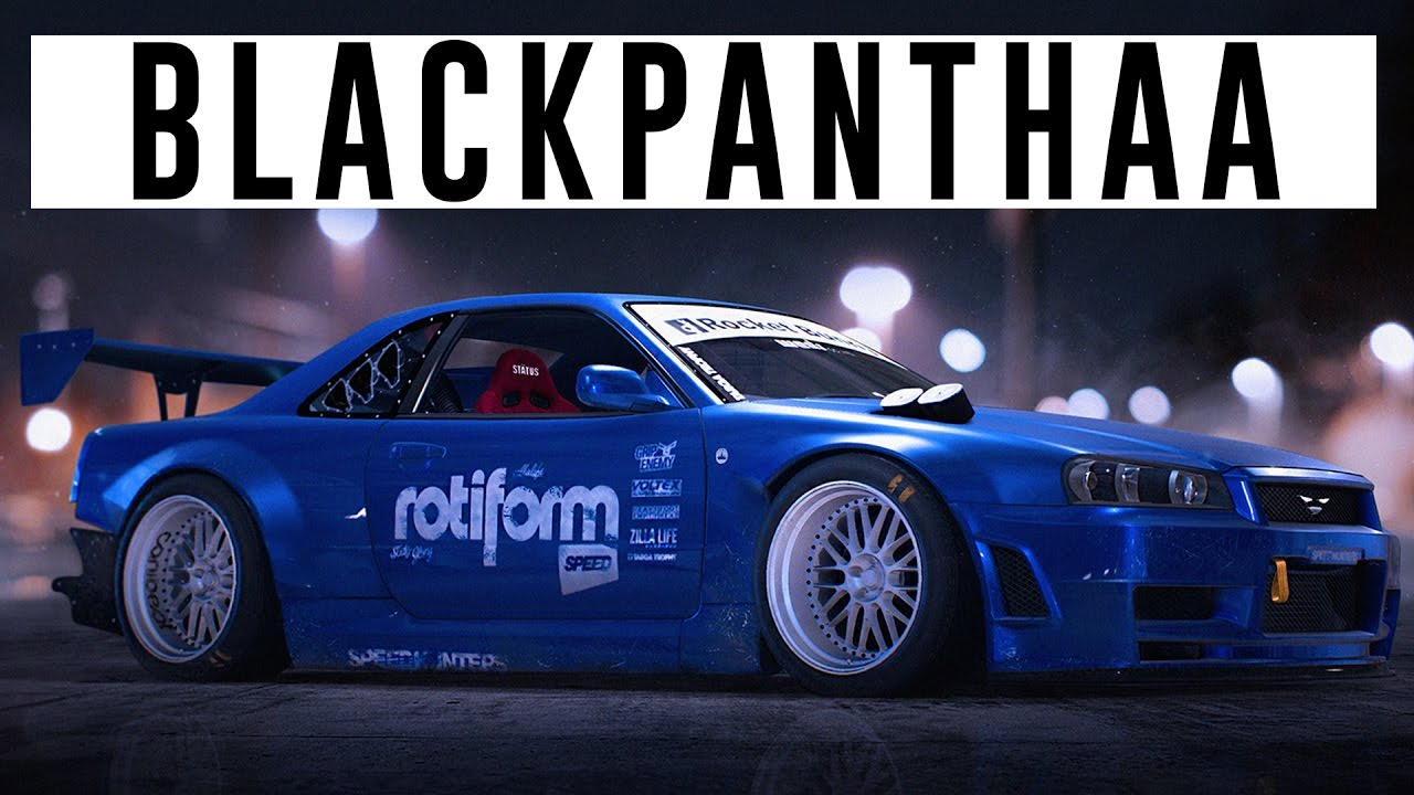 blackpanthaas rocket bunny skyline r34 nfs 2015