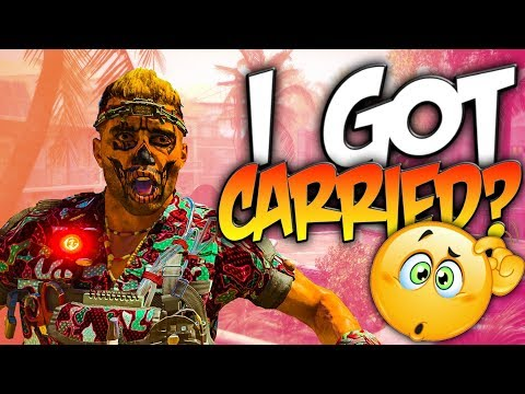 I Got Carried In Call of Duty! (Black Ops 4 Live Gameplay) thumbnail