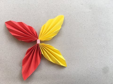 Butterfly Origami tutorial | how to & Paper Craft | Cindy DIY
