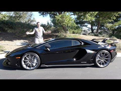 Heres Why the Lamborghini Aventador SVJ Is Worth $600,000