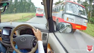 KSRTC SKS Bus driver is driving like VOLVO Bus & BMW is chasing us
