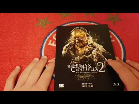 Unboxing #36 THE HUMAN CENTIPEDE 2 Limited Mediabook Edition
