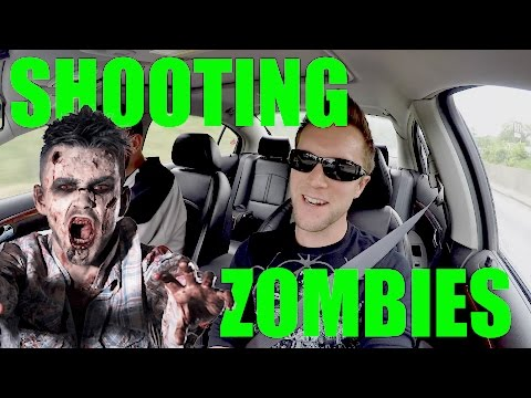 SHOOTING ZOMBIES On My DAY OFF!!! ZOMBIE APOCALYPSE LIVE REVIEW!!