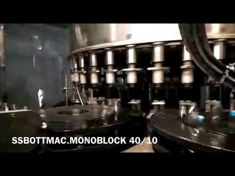 SSBOTTMAC AUTOMATIC MONOBLOCK & GUM LABELING MACHINE.