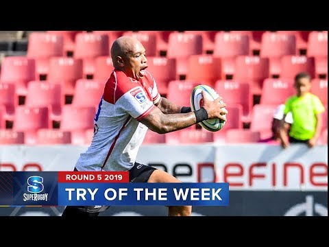 TRY OF THE WEEK | Super Rugby 2019 Rd 5