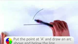 How-to Video Series: How to Draw a Perpendicular Bisector