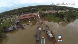 Imagens do Rio Madeira na Situação atual 18 03 2014
