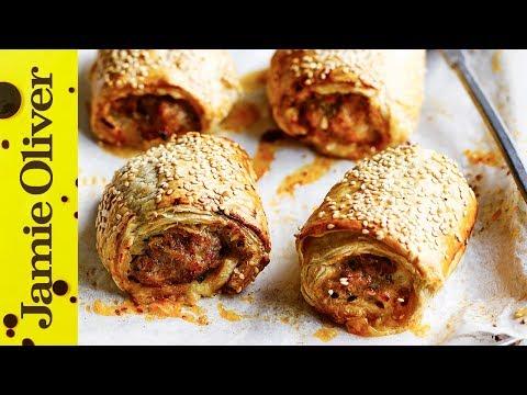 Cheats Sausage Roll | Jamie Oliver