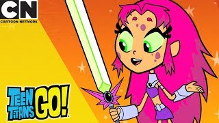 Teen Titans Go! | Starfire Marries an Alien | Cartoon Network
